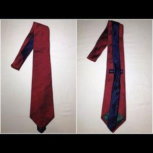 Men's 100% Silk Tommy Hilfiger Neck Tie